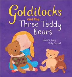 Square Cased Fairy Tale Book - Goldilocks and the Three Bears
