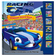 Sound Book - Ralph the Racing Car: Story Sound Book