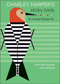 Charley Harper\'s Sticky Birds an Animal Sticker Kit: Aa769