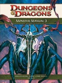Monster Manual 3: Core Rule Book