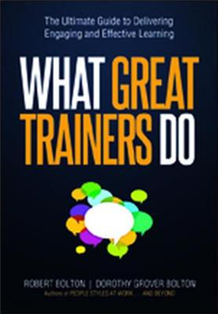 What Great Trainers Do