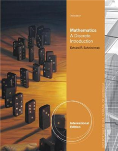 Mathematics: A Discrete Introduction, International Edition