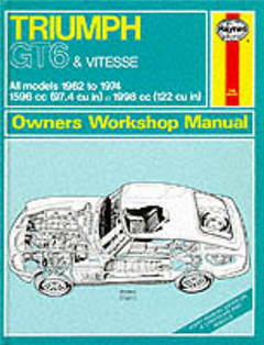 Triumph GT6 and Vitesse Owner\'s Workshop Manual