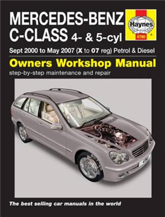 Mercedes-Benz C-Class Service and Repair Manual