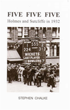 Five Five Five: Holmes and Sutcliffe in 1932