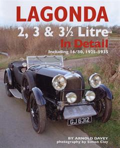 Lagonda 2, 3 & 3-1/2 Litre in Detail, 1925-35