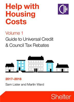 Help With Housing Costs Volume 1: Guide To Universal Credit