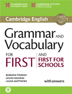 Grammar and Vocabulary for First and First for Schools Book