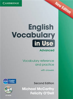 English Vocabulary in Use Advanced with CD-ROM: Vocabulary Reference and Practice