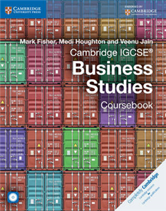Cambridge IGCSE (R) Business Studies Coursebook with CD-ROM