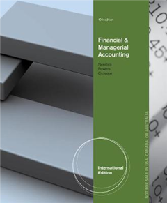 Financial and Managerial Accounting, International Edition