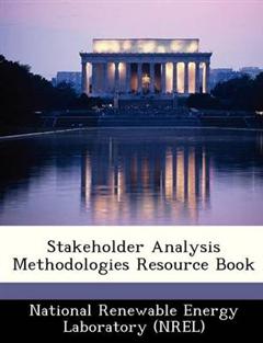 Stakeholder Analysis Methodologies Resource Book