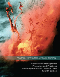Foodservice Management: Pearson New International Edition: Principles and Practices