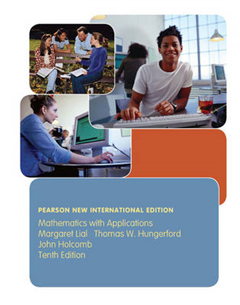 Mathematics with Applications: Pearson New International Edition