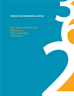 Basic Technical Mathematics with Calculus: Pearson New International Edition