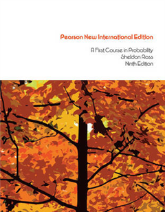 First Course in Probability, A: Pearson New International Ed