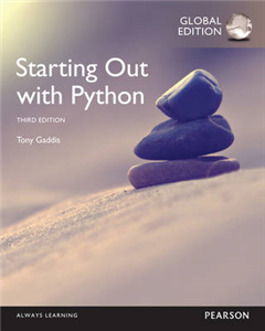 Starting Out with Python, Global Edition
