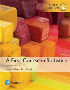 First Course in Statistics, Global Edition