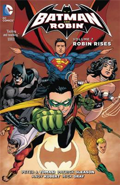 Batman and Robin HC Vol 7 Robin Rises