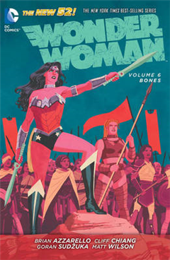 Wonder Woman Volume 6: Bones TP The New 52