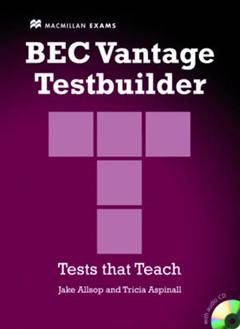 BEC Vantage Testbuilder & CD Pack