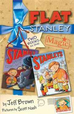 """Flat Stanley Magic: """"Stanley and the Magic Lamp"""", """"Stanley\'s Christmas Adventure"""": Two Books in One!"""