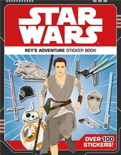 Star Wars Rey's Adventure Sticker Book