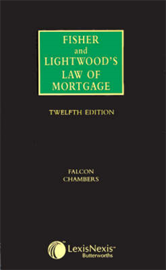 Fisher and Lightwood\'s Law of Mortgage