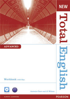 New Total English Advanced Workbook with Key and Audio CD Pa