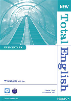 New Total English Elementary Workbook with Key and Audio CD