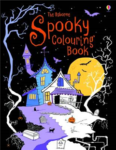 Spooky Colouring Book