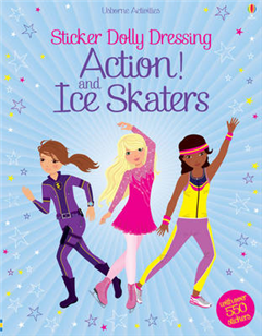 Sticker Dolly Dressing Action! & Ice Skaters