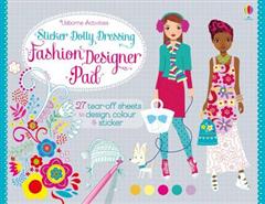 Sticker Dolly Dressing Fashion Designer Pad