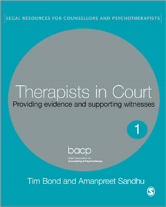 Therapists in Court: Providing Evidence and Supporting Witnesses