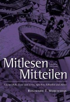 Mitlesen Mitteilen: Literarische Texte zum Lesen, Sprechen, Schreiben und Hoeren (with Audio CD)