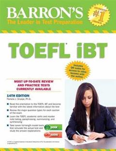 Barron\'s TOEFL iBT with CD Rom