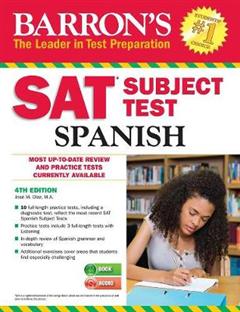 Barron\'s SAT Subject Test Spanish: with MP3 CD