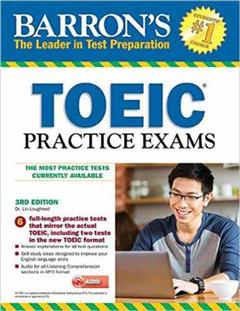 Barron's TOEIC Practice Exams with MP3 CD