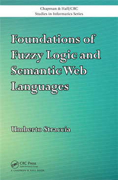 Foundations of Fuzzy Logic and Semantic Web Languages (Open Access)