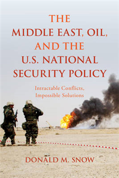 Middle East, Oil, and the U.S. National Security Policy