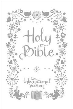 New International Version: NIV Tiny White Christening Bible