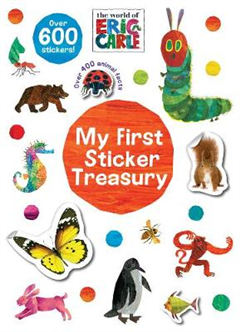 World of Eric Carle My First Sticker Treasury