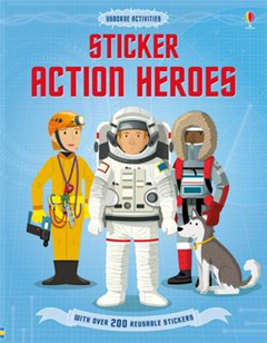 Sticker Dressing Action Heroes
