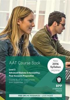 AAT Final Accounts Preparation: Coursebook