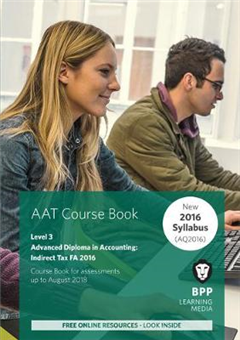 AAT Indirect Tax FA2016 2nd Edition