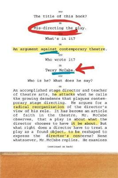 Mis-directing the Play: An Argument Against Contemporary Theatre