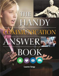 Handy Communication Answer Book
