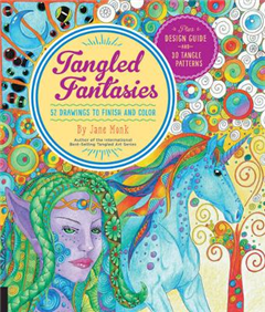 Tangled Fantasies Draw and Color: 52 Drawings to Finish and Color