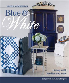 Minick and Simpson Blue and White