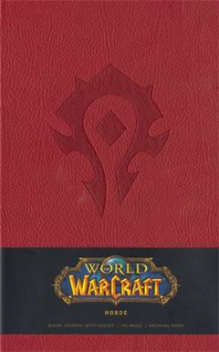 World of Warcraft Horde Hardcover Blank Journal